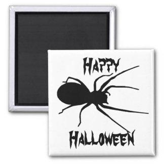 Halloween Black Creepy Spider Magnet
