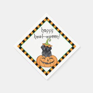 Halloween Black Lab Disposable Napkin