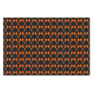 Halloween Black Skull Tissue Paper