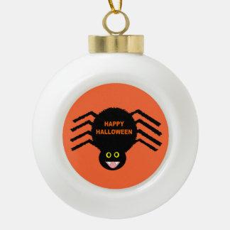Halloween Black Spider Ornament