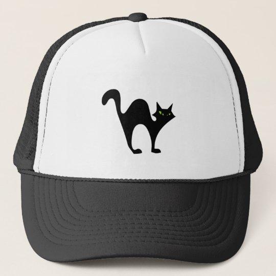 Halloween blackcat cap
