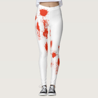 Halloween Blood splatter matters Leggings