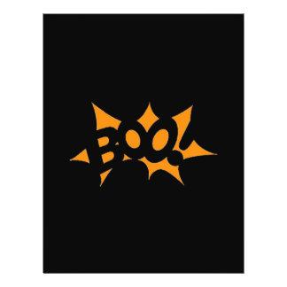 Halloween Boo Flyer