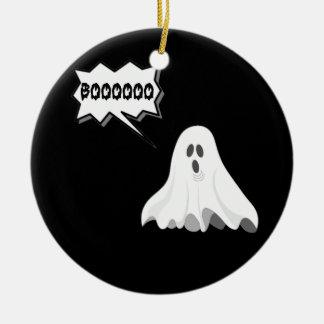 Halloween boo ghost christmas ornament