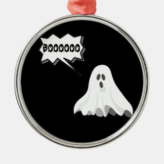 Halloween boo ghost christmas ornament