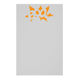 Halloween Boo Stationery