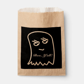 """Halloween Boo, """"Y'all"""" Favor Bags Favour Bags"""