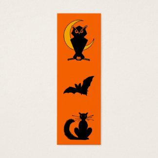 Halloween Bookmark Mini Business Card