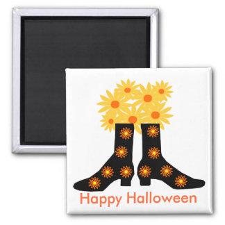 Halloween boots, Happy Halloween magnet