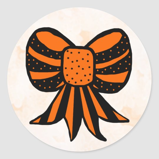 Halloween Bow STICKERS