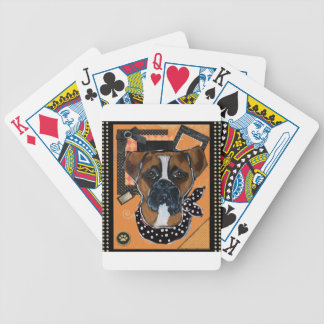 HALLOWEEN BOXER DOG DECK OF CARDS