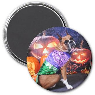 Halloween - Boxer - Roxy Magnets