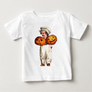 HALLOWEEN BOYS WITH PUMKINS INFANT T-Shirt