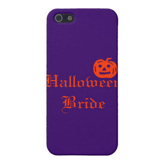 Halloween Bride with Pumpkin Cover For iPhone 5/5S