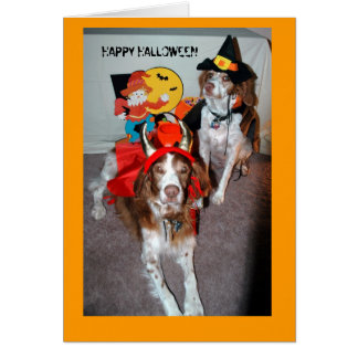 HALLOWEEN BRITTANYS GREETING CARD