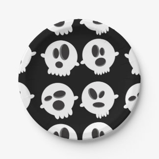 Halloween Bubble's of Ghost Paper Plates