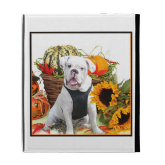 Halloween bulldog iPad folio covers