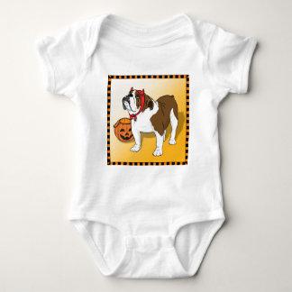 Halloween Bulldog T Shirts