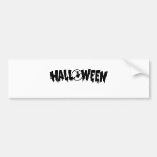 Halloween Bumper Stickers