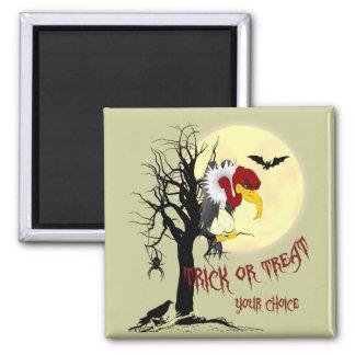 Halloween Buzzard Trick or Treat Magnet