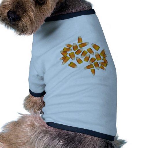 Halloween Candy Corn Pet Shirt