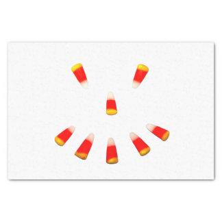 "Halloween Candy Corn Grin 10"" X 15"" Tissue Paper"