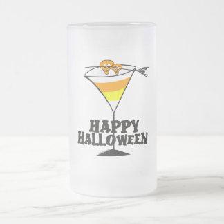 Halloween Candy Corn Martini Mug