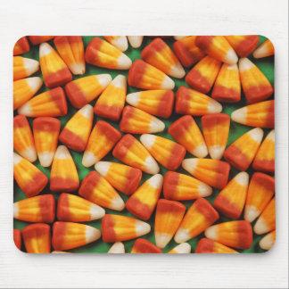 Halloween candy corn mousepad