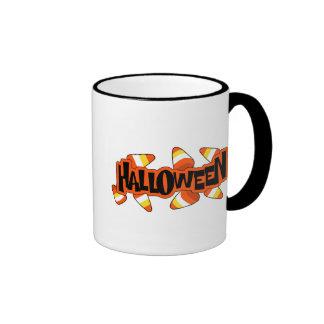 Halloween Candy Corn Coffee Mugs