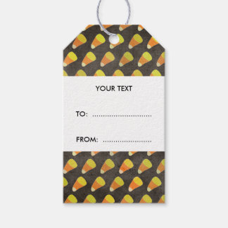 Halloween Candy Corn Pattern Pack Of Gift Tags