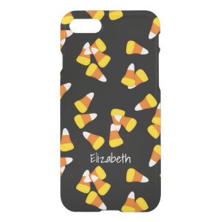 Halloween candy corn pieces pattern iPhone 7 case
