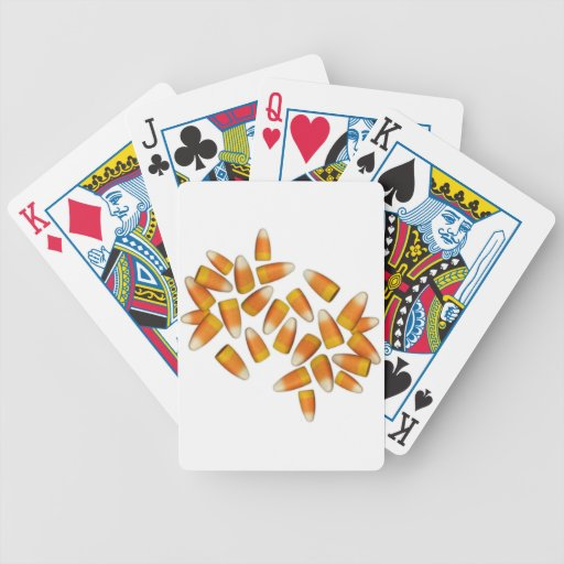 Halloween Candy Corn Playing Cards