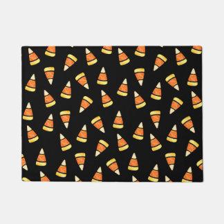 Halloween Candy Corn Print Doormat