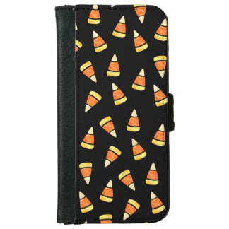 Halloween Candy Corn Print iPhone 6 Wallet Case