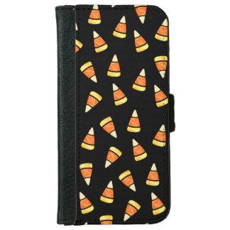 Halloween Candy Corn Print iPhone 6 Wallet Case