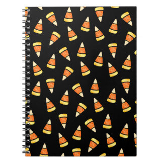 Halloween Candy Corn Print Notebook