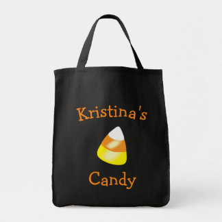 Halloween Candy Corn Tote Bag Trick or Treat