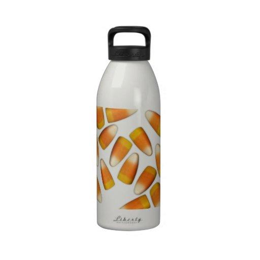 Halloween Candy Corn Reusable Water Bottles