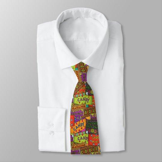 Halloween Candy Tie