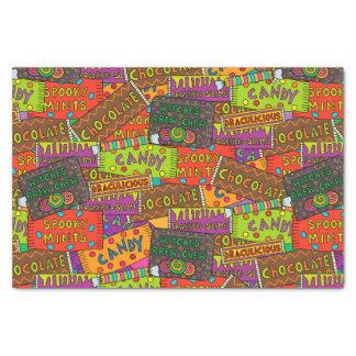 Halloween Candy Tissue Paper