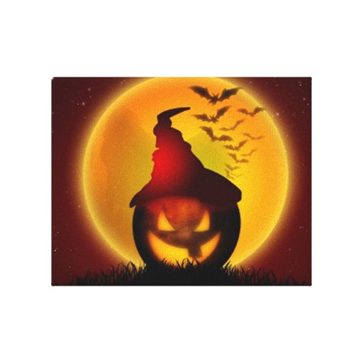 Halloween Gallery Wrapped Canvas