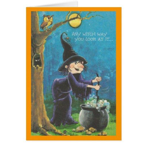 Halloween Card For Children