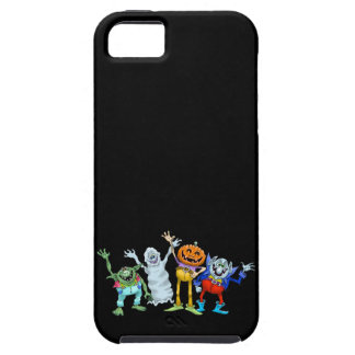 Halloween cartoon creatures waving iPhone 5 covers