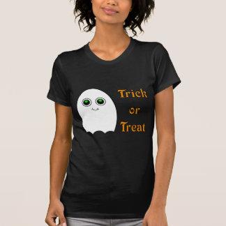 Halloween Cartoon Ghost Trick Or Treat T-Shirt