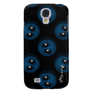 halloween cartoon spiders personalized by name galaxy s4 case