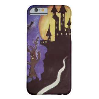 Halloween Castle Bats iPhone 6/6s, Barely There Barely There iPhone 6 Case