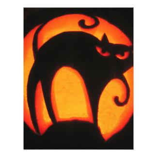 Halloween Cat 21.5 Cm X 28 Cm Flyer