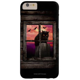Halloween Cat Barely There iPhone 6 Plus Case