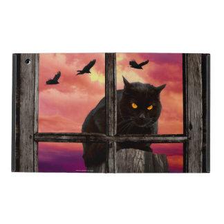 Halloween Cat Case For iPad