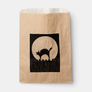 Halloween Cat Favour Bags